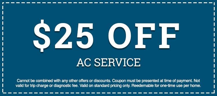 AC service discount