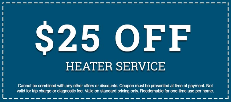 heater service discount
