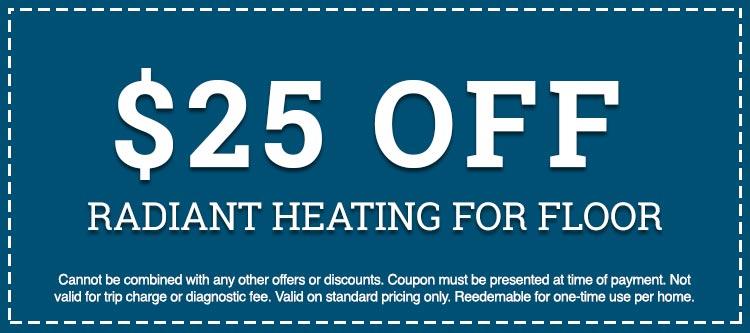 radiant heating for floor discount